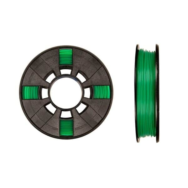 Makerbot PLA Filament Small Translucent Green