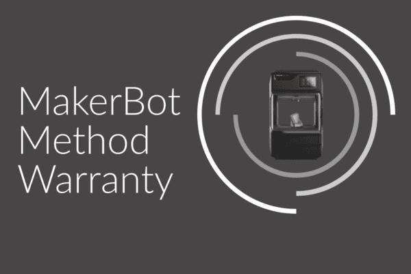 Makerbot Method Warrnty Bk